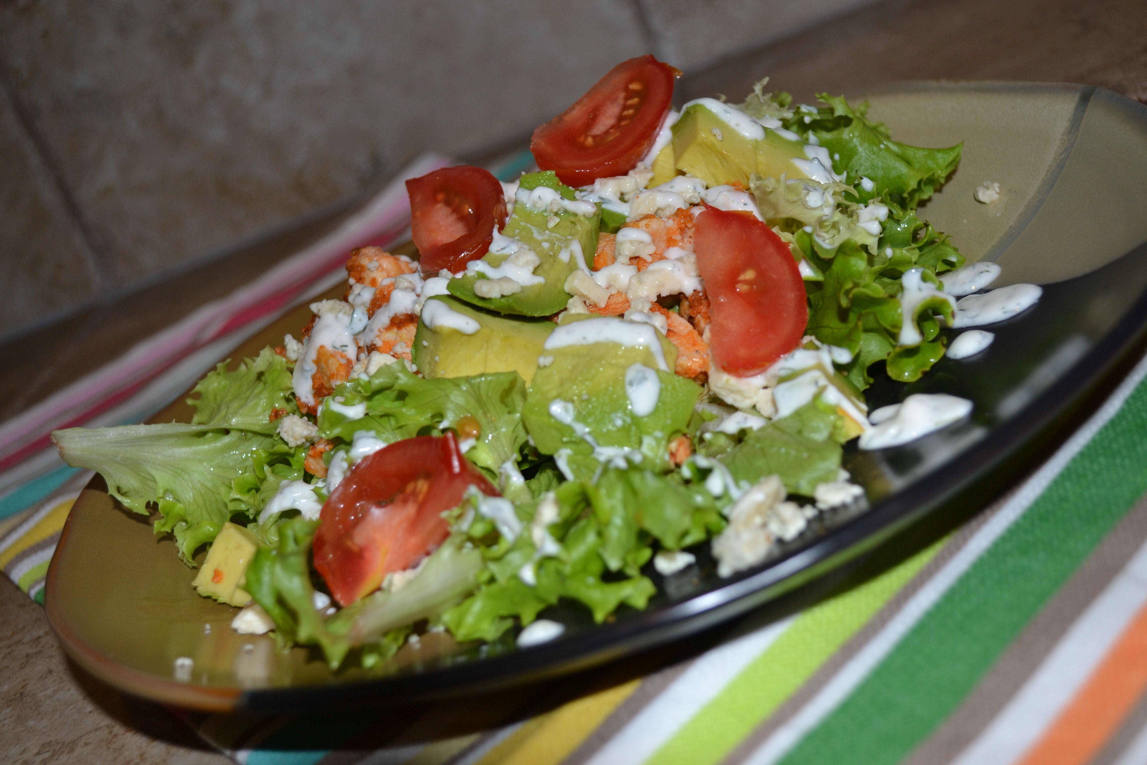 Buffalo Chicken Salad | Like Write on Rice