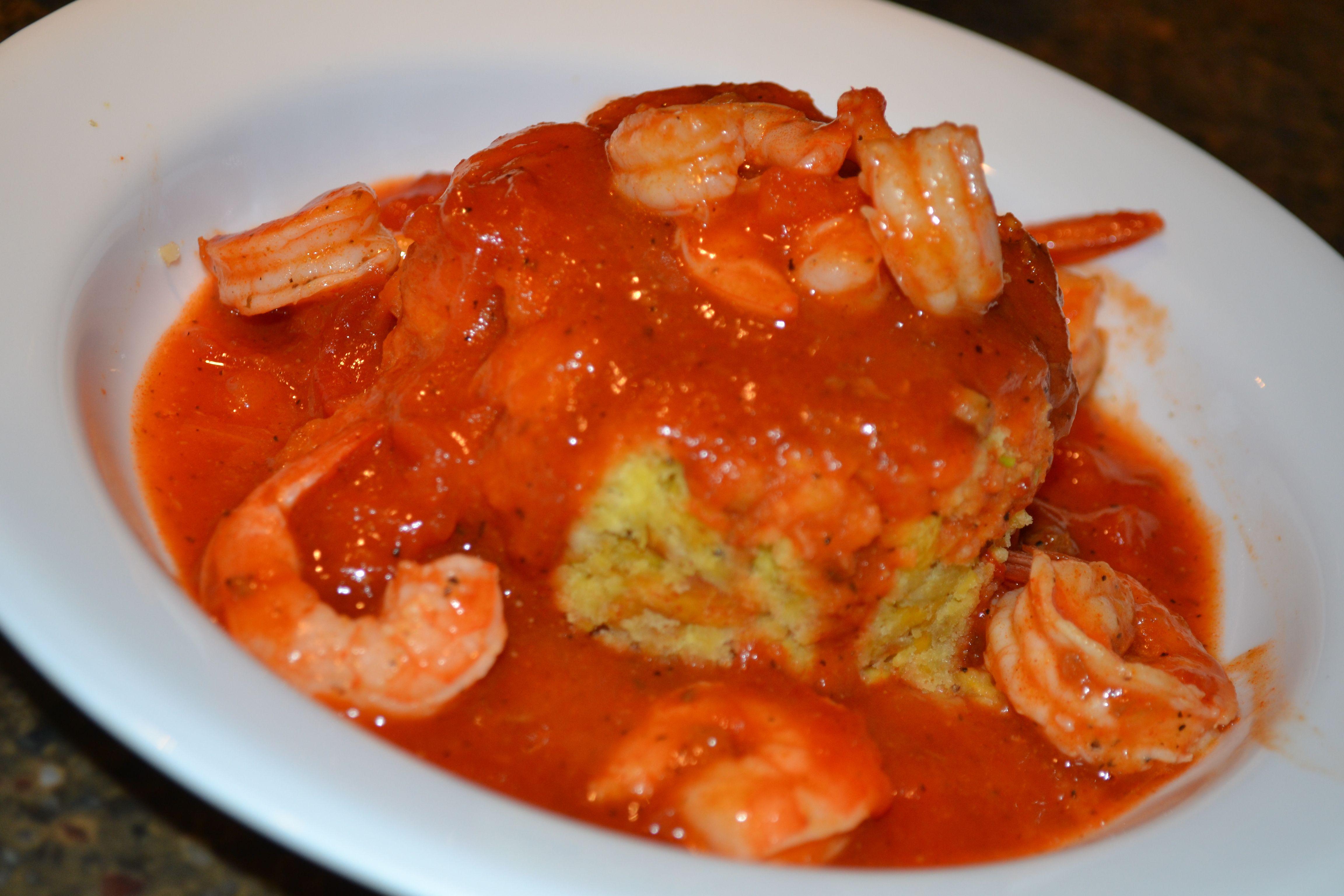 mofongo con camarones recipe